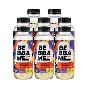 Combo Bebba Me Drink Shake - Sabor Banana (8 unid.)