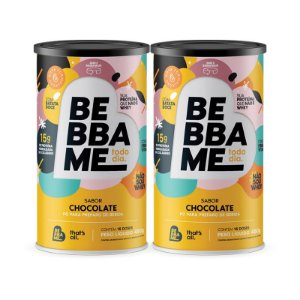 Lata Bebba Me Todo Dia 30 dias - Sabor Chocolate (2 unid.)