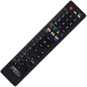 Controle Remoto Receptor Azamérica F90 / S800 / S806 / S807 / S808 / S809 / S810B / S812 / S900 / S912