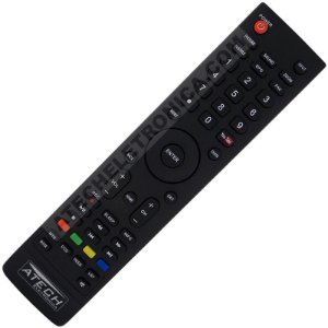 Controle Remoto TV LED SEMP Toshiba CT-6640 / DL3277i / DL3977i / DL3975i com Youtube (Smart TV)