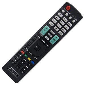 Controle Remoto Receptor Cinebox Fantasia Maxx 2 / Legend HD / Maestro HD / Optimo X