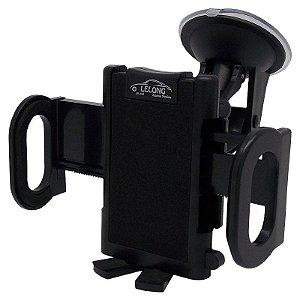 Suporte Veicular Automotivo Universal GPS / Telefone / Celular / Smartphone