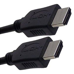 Cabo HDMI Macho + HDMI Macho - 2 Metros