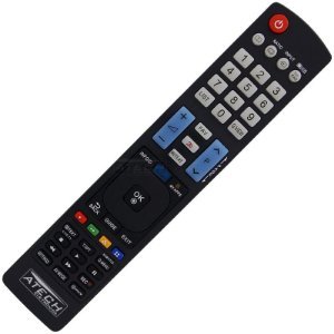 Controle Remoto TV LCD / LED LG AKB73756504 (Smart TV)