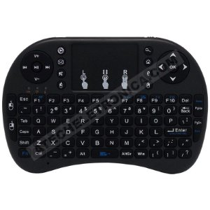Controle Remoto Air Mouse Touchpad com Mini Teclado e Mouse Universal Smart TV / PC / TV Box / Playstation / Xbox