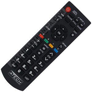 Controle Remoto TV LCD / LED Panasonic Viera TNQ2B3901 / TC-L24XM6B / TC-L32XM6B / TC-L32B6B / TC-L39B6B / TC-L39EM6B