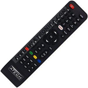 Controle Remoto TV LED Philco PH32C10DSGWA / PH43N91DSGWA / PH50A17DSGWA / PH55A16DSGWA / PH60D16DSGWN (Smart TV)