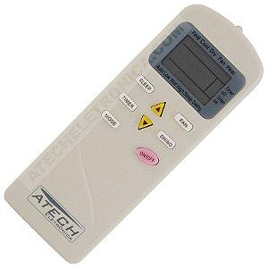 Controle Remoto Ar Condicionado Elgin SQFIC7000 / HCFI09A1NA / HCFI09A2NA