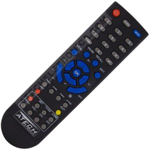 Controle Remoto Receptor Cromus CAD-1000S / CAD-1000 Slim TV Free