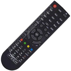 Controle Remoto Receptor Visiontec VT4300 Box Anadigi HD