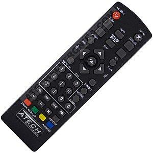 Controle Remoto Conversor Digital Aquário DTV-4000 / DTV-4100 / DTV-5000 / DTV-5100 / DTV-7000 / DTV-7100