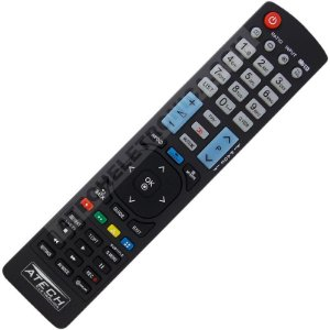 Controle Remoto TV LED LG AKB73756504 / 47LA8600 / 55LA8600 / 60LA8600 / 70LA8600 (Smart TV)