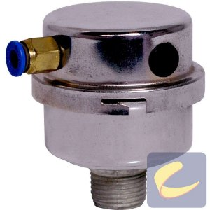 """Filtro Ar 1/2"""" C/Alívio - Compressores Odonto - Chiaperini"""