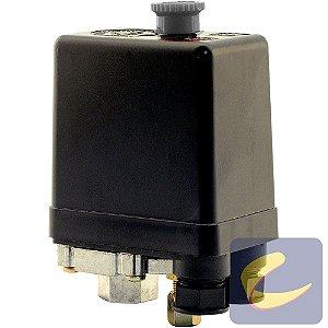 Pressostato 100/140 Sem Válvula Com Chave Sem Manifold 1 Via Compressores De Ar Média Pressão Chiaperini