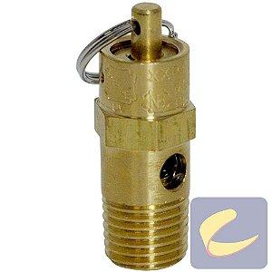 Válvula Segurança 135 Lbs - Compressores Odonto/ Baixa Pressão - Chiaperini
