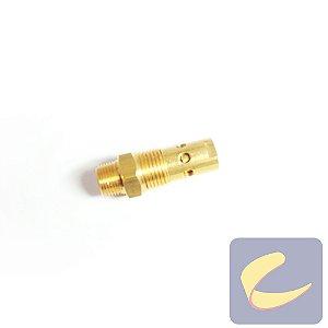 """Válvula Retenção 3/8""""x1/2"""" - Compressores Odonto - Chiaperini"""