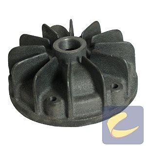 """Tampa Cilindro 4.3/4"""" C/Furo - Compressores Alta Pressão - Chiaperini"""
