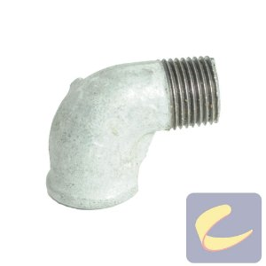 "Cotovelo Galv. Mf 1/2"" - Compressores Alta Pressão - Chiaperini"
