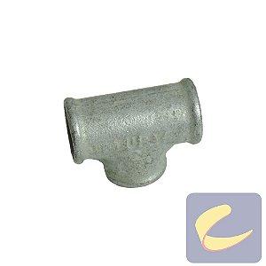"Tee Galv. 3/4"" - Compressores Alta Pressão - Chiaperini"