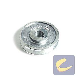 Polia Alumínio 85 mm. 1A F19.04 - Compressores Média Pressão - Chiaperini