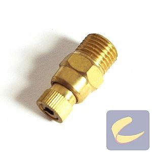 "Válvula De Ajuste 1/4"" Npt - Motocompressores - Chiaperini"
