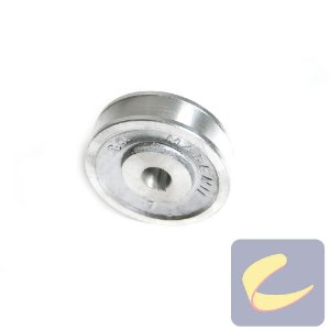 Polia Alumínio 80 mm. 1A F15.87 - Compressores Baixa Pressão - Chiaperini