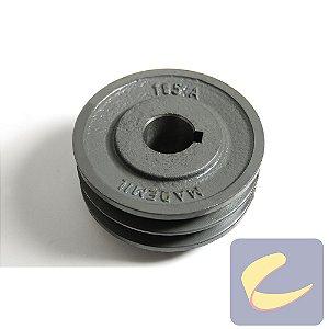 Polia Fefu 105 mm. 2A F28 - Compressores Média Pressão - Chiaperini