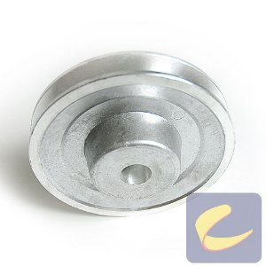 Polia Alumínio 115 mm. 1A F 19.03 (Motor Tri) - Compressores Média Pressão - Chiaperini