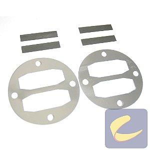 Jogo De Kits De Válvulas 10Red   - Compressores Média Pressão - Chiaperini