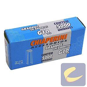 Grampo Em Barretes Pcn 10Mm G-10Pcn 5000 Unidades Grampeadores - Chiaperini