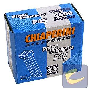 Pino Em Barretes T 45Mm P-45T 2500 Unidades Pinadores - Chiaperini