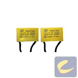 Capacitor Partida 0.22Ufm/250V - Elétricas - Chiaperini