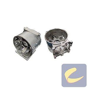 Cárter Esquerdo - Compressores Odonto - Chiaperini