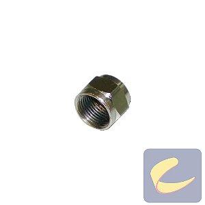 Porca Sext. Unf 5/8 Zinco - Pneumáticas - Chiaperini