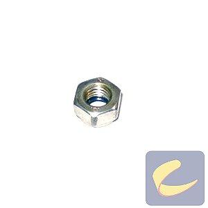 Porca Sext. M8 Zinco - Elétricas - Pneumáticas - Chiaperini