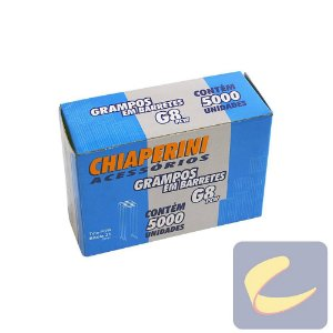 Grampo Em Barretes Pcw 8Mm G-8Pcw 5000 Unidades Grampeadores - Chiaperini
