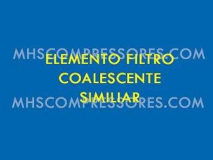 ELEMENTO PÓS FILTRO COALESCENTE SCHULZ MODELO EFS 0050 H - 007.0268-0 SIMILAR