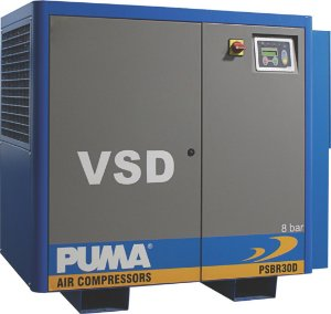 Compressor de parafuso PSBR30VSD