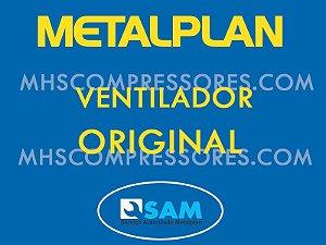VENTILADOR TRIFÁSICO METALPLAN  - 220/380V 50/60HZ