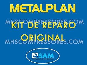 KIT REPOSIÇÃO VALVULA ADMISSÃO METALPLAN PACK 60/75/100 HP PC 50/60HP DD - 3060116