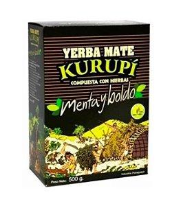 Erva para Tereré sabor Menta y Boldo 500 gramas - Kurupí