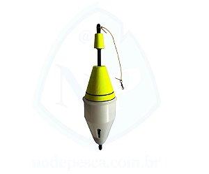 Boia Cevadeira Amarelo 80 Gramas Copo Branco - Apoio Pesca