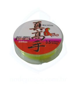 Linha Fluorcarbono Amarelo 100m - Yaoxin