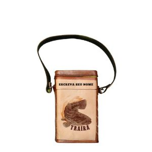 Porta Erva revestida em couro Traíra 500g -  Toro Rojo