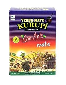 Erva para Tereré sabor Anis 500 gramas - Kurupí