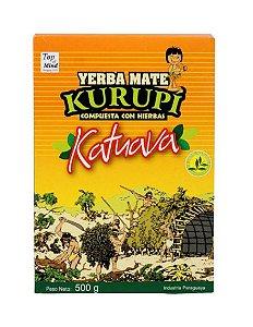 Erva para Tereré sabor Katuaba 500 gramas - Kurupí