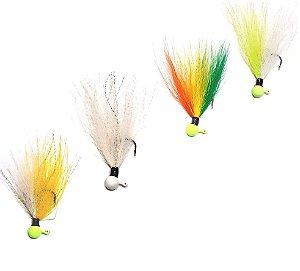 Streamer Jig Finesse Anzol 1/0 e Chumbo 03 gramas - Juva Pesca