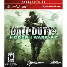 Call Of Duty 4 Modern Warfare jogo para PS3