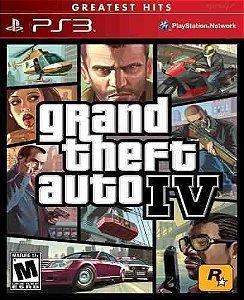 Grand Theft Auto IV jogo para PS3