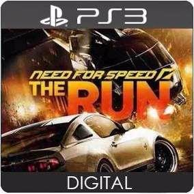 Need For Speed The Run jogo para PS3